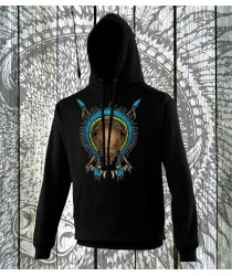 Bison Spiritual Animal Hoodies