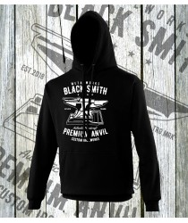 Black Smiths Prem Anvil Hoodies