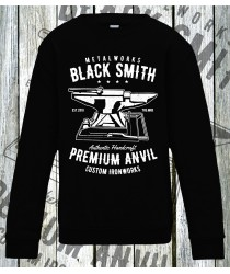 Black Smiths Prem Anvil Sweatshirts