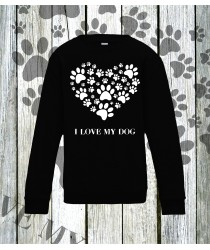 I Love My Dog Sweatshirts