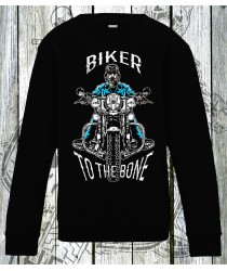 Biker To The Bone Sweatshirts