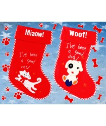 Pet Christmas Stocking, Cat or Dog!!!