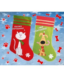 Pets Xmas Stockings, Cat or Dog!!!