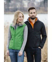 Softshell Female Gilet, Body Warmer
