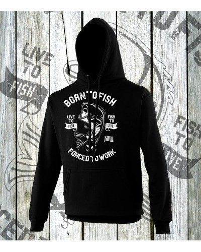 Born To Fish Hoodies