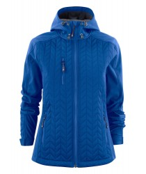 Hybrid Female Jacket of wing and water repellent softshell