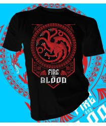 House Targaryen Fire and Blood