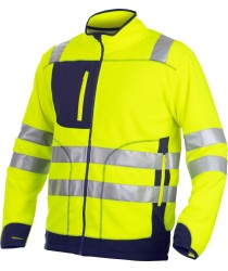 ProJob EN ISO20471 Jacket in anti-pilling Fleece