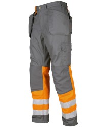 ProJob EN471-Class 1 Yellow-Orange All Purpose Trousers Chris