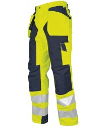 ProJob EN471-Class 2 Yellow/Orange All Purpose Reinforced Trousers
