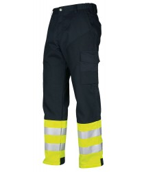 ProJob EN471-Class 1 Stretch-fabric Trousers