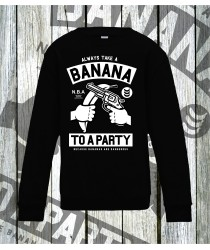 Banana Party Sweatshirts