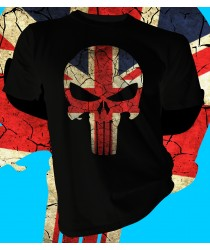 GB British Flag Skull
