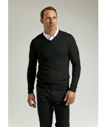 Glenmuir V-neck Merino Wool Sweater