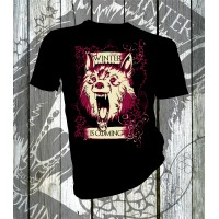 Direwolf Winter Is Coming T-shirt