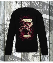 Fire and Blood Sweatshirts