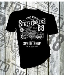 17th Street Bikers T-shirt
