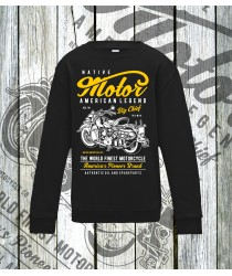 Big Chief Motorcycle Sweatshirts
