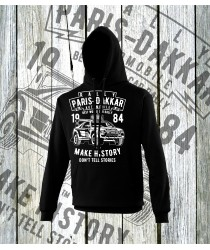 Dakkar Automobile Rally Hoodies