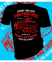 Fire Fighter Honour and Courage