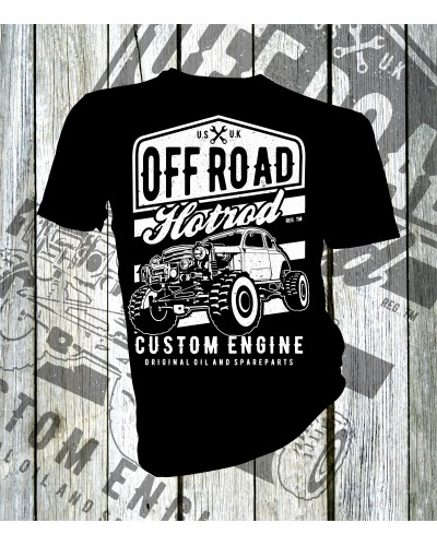 Off Road Hotrod T-shirt