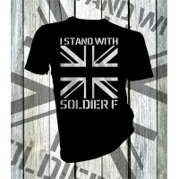 I Stand With Soldier F T-shirt
