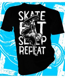 Skate Eat Sleep Repeat Skater